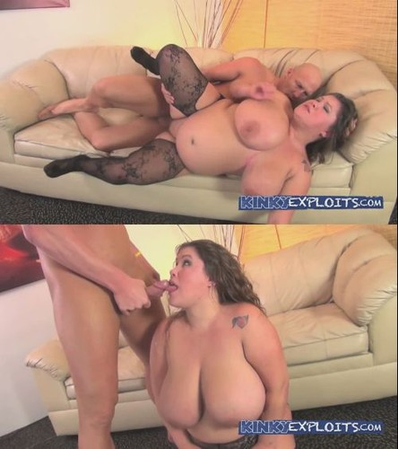 Kacey Parker – Sexy Busty BBW shows off and gets railed