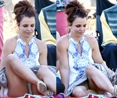 Britney Spears Upskirt 6 Abril 2014