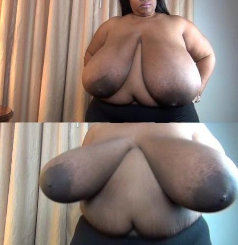 Cotton Candi   Big Black Boobs Striptease HD