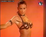 Daniela Cardone sensual strip