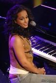 Alicia Keys Thong