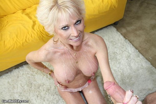 Busty milf shave her pussy and gets fucked in her arse 1